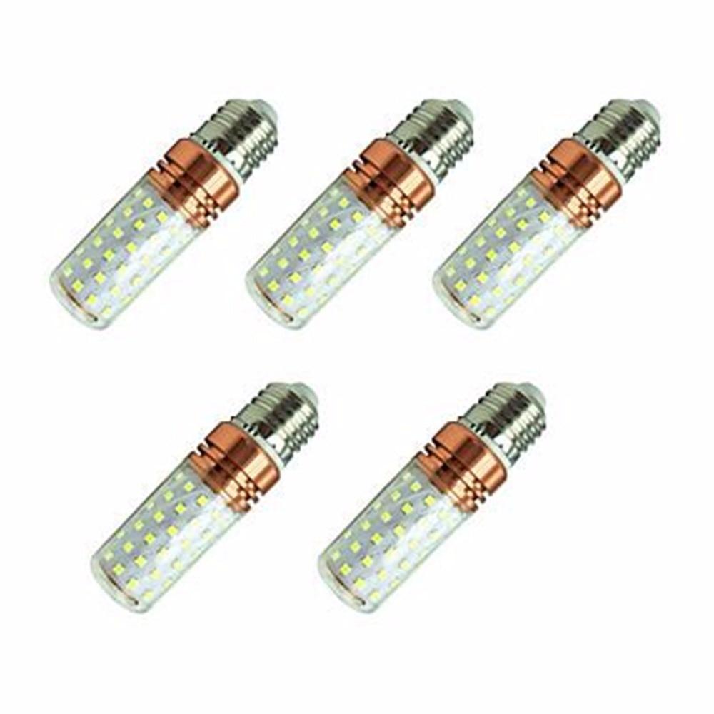 5pcs/lot  LED Bulb 16W AC85-265V E27 2835SMD 84LED Corn Light Warm White/Cold White Free Shipping<br>