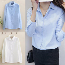 Women Fashion Spring Elegant Swan Embroidery Blouses Vintage Long Sleeve Shirt Casual Slim Tops FS99