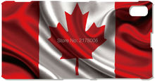 Painting Canada Flag Cell Phone Cover For Sony Xperia Z Z1 Z2 Z3 Z4 Z5 Compact Mini E4 M C1904 C1905 M2 M5 C3 C4 SP M35h Case