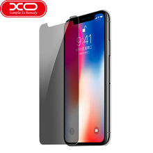 Buy XO Tempered Glass Anti-peeping iPhone X Privacy 9H Hardness Screen Protector iPhone X Privacy Glass Film for $3.24 in AliExpress store