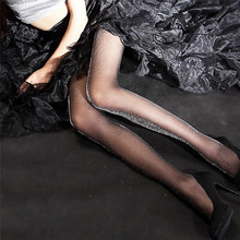 Buy Women's Stockings Sexy Shiny Pantyhose Glitter Stockings Women Glossy Tights Tights