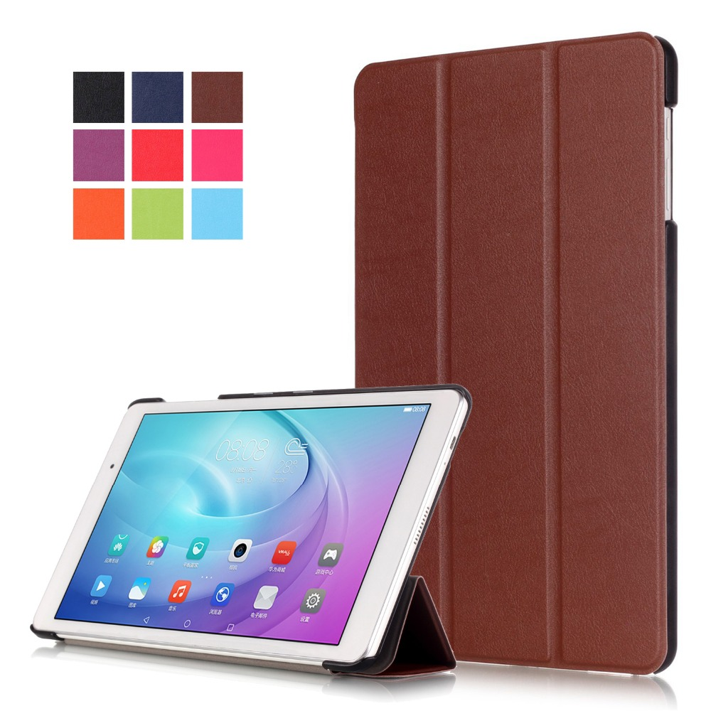 Slim Thin Foldable PU Leather Case for Huawei MediaPad T2 10.0 Pro FDR-A01L FDR-A01W FDR-A03L A04L Fashion Tablet Stand Cover <br><br>Aliexpress