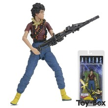 Movie Aliens 1992 Space Marine LT Ripley Cartoon Toy PVC Action Figure Model Doll Gift(China)