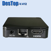 Smart ORIGINAL mini Tvip v412 set-top box, support Android kk 4.4 and linux double operating system, HD 1080P tvip set top box(China)