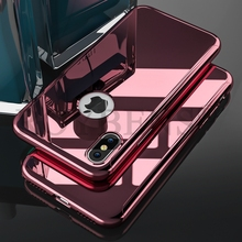 Buy Roybens Luxury Case Apple iPhone X Ultra Thin Glossy Bling Mirror Case iPhone X 10 Phone Case Hard Plating Cover Coque for $3.99 in AliExpress store