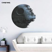 1ps Creative Death Star Wall Stickers Poster Bedroom Decorative Wall Stickers Murals Vinyl wallpaper Home Decoration Accessories(China)