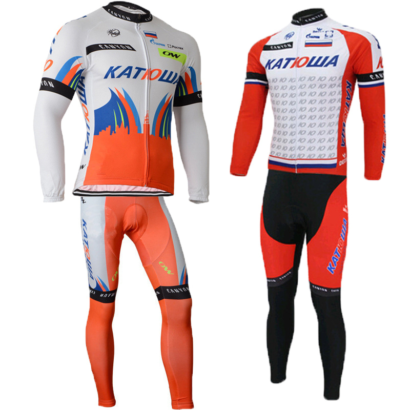 Tour de france Winter Thermal Fleece Cycling Jersey men&amp;women 2017 Pro team mountain Bike Clothing MTB Bicycle Clothes skinsuit<br><br>Aliexpress