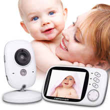 DBPOWER 2.4G Wireless 3.2 inch Electronica Video Baba Camera 2 Way Audio 5M IR Temperature Lullabies Portable Com Baby Monitor