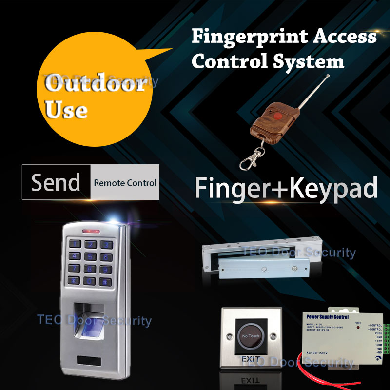DIY Electronic Access Control Fingerprint Keypads Outdoor Use Security System Door-open Access 500 Users Easy Operation<br><br>Aliexpress