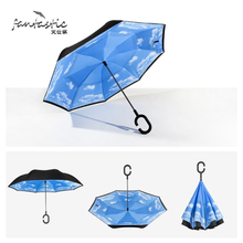 high quality british style womens decorative umbrela cheap-umbrella super strong inverted umbrella chinese creative umbrella(China)