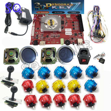 Pandora key 7 2177 in 1 arcade game console kit arcade 2 players Can add games HDMI VGA usb joystick for pc video game (China)
