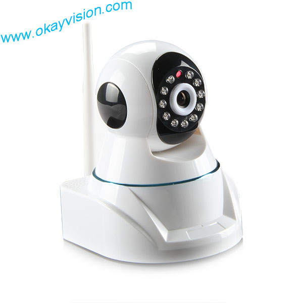 Mini WIFI IP camera Intelligent Network Remote P2P HD Pan &amp; Tilt mini wifi camera for free shipping<br>
