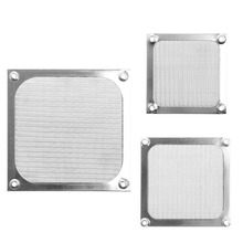 80/90/120 size Metal Dustproof Mesh Dust Filter Net Guard 12cm/9cm/8cm For PC Computer Case Cooling Fan(China)