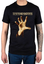 Summer Fashion System Of A Down Hand T Shirt Soad System New Merch Serj Tankian Men'S Fashion T Shirt Funny Printed Tops(China)