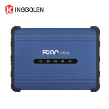 Fcar FVCI Supports J2534 Protocol Diagnostic Tool 3 ARM microcontrollers FVCI Online Programming function better than MS908 Pro