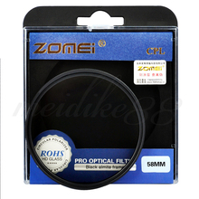 Brand Zomei 58mm Polarizer CPL Filter for Canon Nikon Sony Pentax DSLR Professional Camera Lens