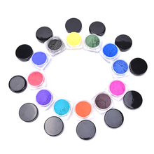 Thermochromic Pigment Thermal Color Change Temperature Powder Dust Decoration Gradient Nail Art 3D Tips Manicure Tools 12 Colors()