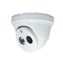 HD 1.0MP 720P Dome IP Camera White Plastic Dome Camera Network Onvif P2P Indoor Security IR-Cut Night
