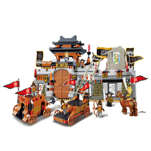 Sluban Model Toy Compatible with Lego B0266 610pcs Three Kingdoms Series Model Building Kits Toys Hobbies Building Model Blocks(China)
