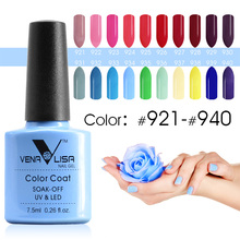 Venalisa nail Color GelPolish CANNI manicure Factory new products 7.5 ml Nail Lacquer Led&UV Soak off Color Gel Varnish lacquer(China)