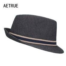 AETRUE nueva ala del sombrero mujeres fieltro sombreros para hombres gorras  Gorros Chapeu Iglesia navegante Wide df9a9eb3037