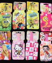 200 Pcs fashion lovely cartoon Universal mixing Mobile Phone Protective Microfibre Sock