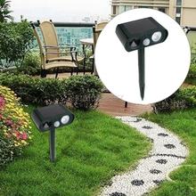 Solar Power Ultra Sonic Pest Dog Cat Repeller LED Flashing Mouse Scarer #H0VH# Drop shipping(China)
