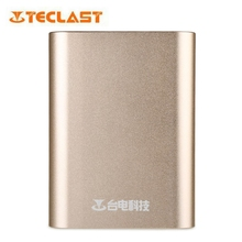 Teclast T104QC-G Powerbank  Quick Charge 2.0 10400mAh Aluminum Alloy Skin Power Bank External Battery Pack for phones table PCs