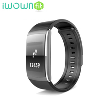 Buy Waterproof Smart Bracelet Fitness Tracker support Andriod IOS iwownfit I6 PRO Smart Wristband Heart Rate Monitor IP67 for $27.54 in AliExpress store