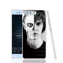 18142 evan peters doule face life cell phone Cover Case for huawei Ascend P7 P8 P9 lite Maimang G8