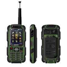 Original Discovery A12i A12 IP67 Waterproof Phone UHF Walkie Talkie Rugged GSM Mobile Phone 2.4 Inch Screen Supports Analog TV