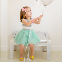 Baby Girls Summer Dress 2017 New Brand Mesh Kids Print Party Dress for Girls Children Dresses for girls Fashion Clothes