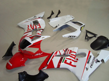 Custom Motorcycle Fairing kit for YZFR6 98 99 00 01 02 YZF R6 1998 2000 2002 YZF600 White hot red Fairings set+7gifts YD10