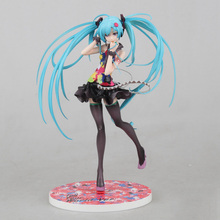 Action Figure Sexy Hatsune Miku Juguetes 21cm gift Tell Your World Miku toys Brinquedos Collectible Model Japan Anime