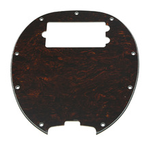 KAISH Bass Pickguard MusicMan Stingray MM4 Scratch plate for Music Man MM2 4 String Guitar Parts Red Tortoise(China)