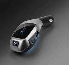 Universal Wireless Bluetooth FM Transmitter Hands free Car MP3 Player Kit for iPhone Android Support SD Card or USB Input(China)