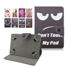 PU Leather Cover Case for Ainol Novo 9 Spark/Spark II/Spark 2 10.1 inch Universal Tablet Cases +Center Film+pen KF492A(China)