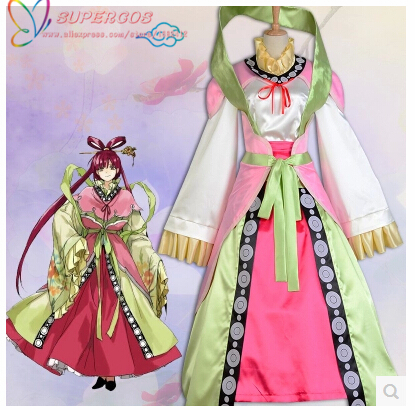 High Quality Magi:The Labyrinth Of Magic Kougyoku Ren Fairy Cosplay Costume ,Perfect Customized For You !