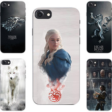 Buy Fashion Game Throne House Stark Lannister Targaryen Hard PC Painting Case Apple iPhone 7 Cell Phone Printed Cover for $2.13 in AliExpress store