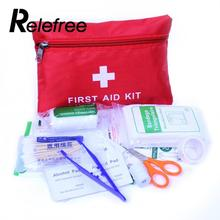 Relefree 8pcs First Aid Kit Bag Outdoor Sport Travel Emergency Bag Health care Cloth(China)