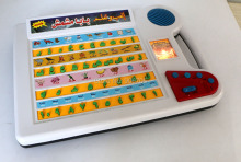 New Arabic TOY Learn Words Alphabet and numbers,Ypad Educational Learning Toy Tablet for  islamic Children with light