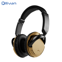 Buy OLLIVAN Bluetooth Headphones Active Noise Cancelling Wireless Headset Gaming Music Headphones Microphones Sport Headset for $20.99 in AliExpress store