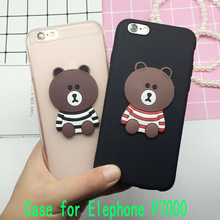 Buy 3D Coque Cute Bear Case Elephone P7000 Back Cover Soft Silicone Cute Cartoon Phone Cases Capa Funda Shell Bags for $1.89 in AliExpress store