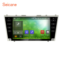 "Seicane 9"" Android 7.1 Radio GPS Navi Bluetooth Stereo for 2007-2011 Toyota Camry USB SD WIFI AUX 1080P Video Support DVR OBD2(China)"