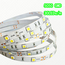 Led Strip ligths SMD5050 Non Waterproof DC 12V LED Light Ribbon 150Leds 5M Lights holiday Halloween Christmas Festival Party(China)