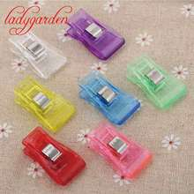 Buy 50 Pcs DIY Plastic Sewing Fixed Clips Patchwork Crafts Transparent Quilt Quilting Patchwork Clip Sewing Tools & Accessory for $7.09 in AliExpress store