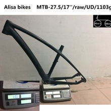 Factory outlet 27.5er mtb bike frames Toray T800 frame+clamp+headsets BSA/BB30 chinese carbon frames frame carbon mtb custom(China)