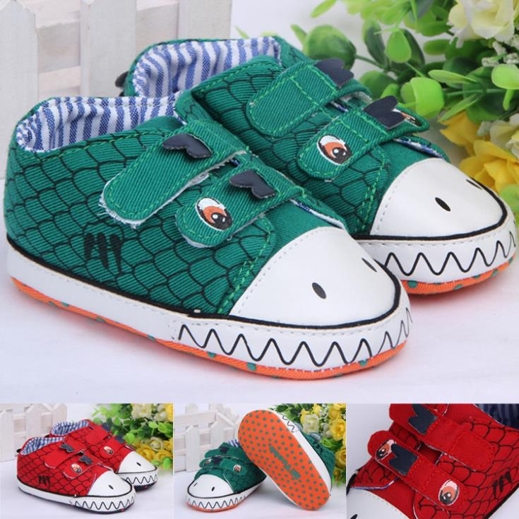 2015 spring new arrival babys dinosaur casual sneakers little kids cartoon first walkers childrens canvas outdoor shoes<br><br>Aliexpress