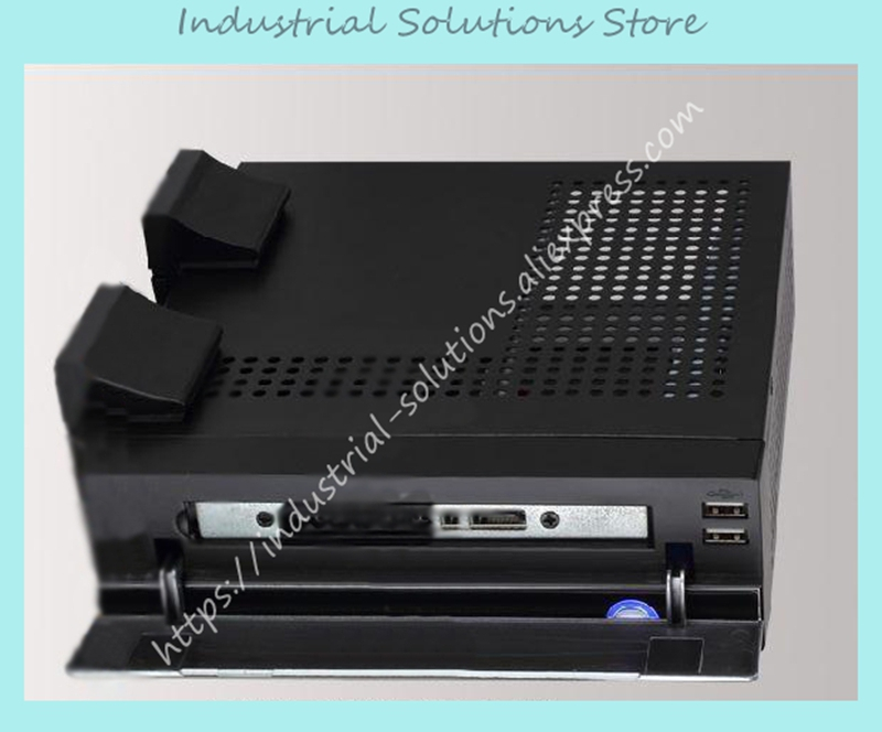 New Mini-Itx Motherboard Small Computer Case Ion E350 Mini HTPC PC Black<br>
