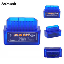 V2.1 MINI ELM327 Bluetooth Interface Auto Diagnostic Tool v2.1 ELM 327 Diagnostic-tool obd2 Car Code Scanner OBD 2 OBDII Scaner